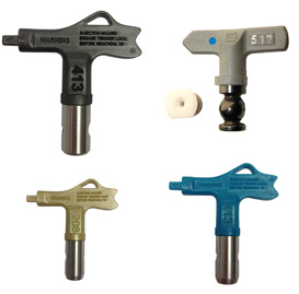 Reversible Airless Spray Gun Tips